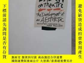二手書博民逛書店Brecht罕見on Theatre THE DEVELOPME