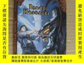 二手書博民逛書店(PLANE罕見SCAPE) BLOOD HOSTAGES 英文