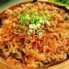 年菜預購-高興宴(大囍臨門)-屏東特色豪氣櫻花蝦干貝米糕(600±50g)