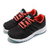 adidas 慢跑鞋 Galaxy 4 K 黑 紅 白底 輕量 基本款 女鞋 中童鞋 大童鞋【PUMP306】 B75656