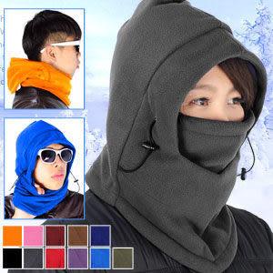 加厚抓絨保暖防寒防風頸套頭套面罩口罩圍脖圍巾自行車機車魔術頭巾毛帽另售手套發熱衣專賣店