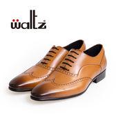 Waltz-簡約沖孔牛津鞋212171-06(棕)
