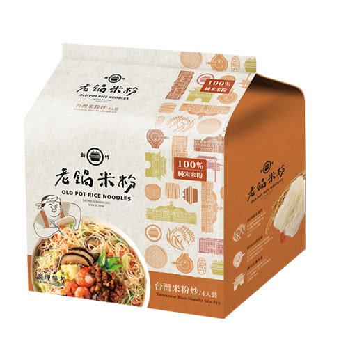 老鍋台灣米粉炒風味-70g*4【愛買】
