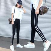 8折免運 打底褲 內搭褲運動女外穿薄款新款正韓高腰顯瘦緊身鉛筆小腳九分夏季