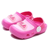 FILA 童 布希鞋 閃燈 粉 桃 (布魯克林) 7S451U522