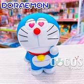 正版 BANDAI 萬代 小叮噹 哆啦A夢 公仔 玩具 擺飾 眼冒愛心款 COCOS FG680