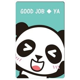 【收藏天地】防水撕不破*趣味票卡貼-Good Job! / 悠遊卡 e卡通 感應卡 門禁卡