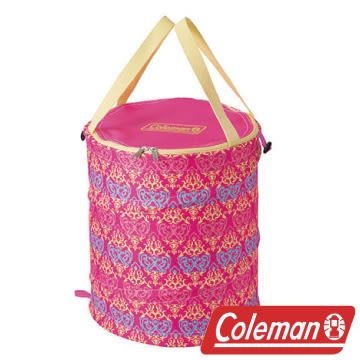 Coleman 紅葉圖騰萬用魔術桶 衣物收納桶 垃圾桶 收納桶 戶外 露營 CM-21913