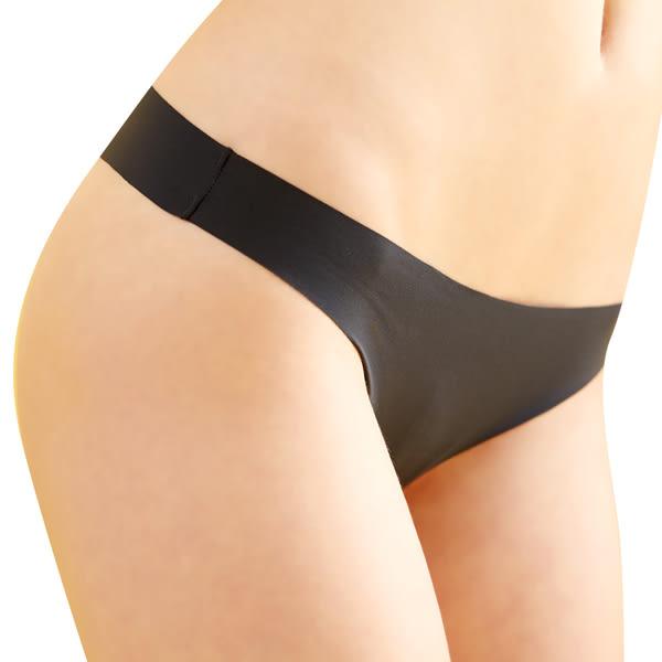 思薇爾-全素面FREE SIZE糖果低腰丁字褲(鑄鐵灰)
