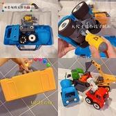 工程玩具兒童拆裝工程車可拆卸組裝螺絲螺母改錐工具箱玩具益智鍛煉動手 嬡孕哺 免運