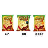 印尼 KUSUKA 樹薯片 (180g) 原味/起士風味/BBQ 3款可選【小三美日】