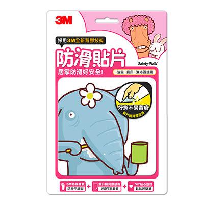 【佳兒園婦幼館】3M 防滑貼片-可愛動物