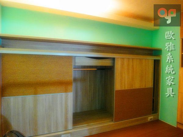 【系統家具】系統衣櫃 特殊材質推拉門 開放架框 層板收納 可自由跳色!!