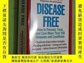 二手書博民逛書店Disease罕見Free:How to Prevent,Tre