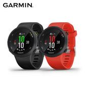 Garmin Forerunner 45 GPS腕式光學心率跑錶-黑幽魅黑
