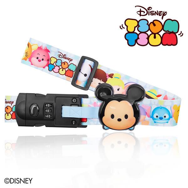 行李束帶 DESENO Disney 迪士尼 TSUMTSUM 可愛造型 附行李秤束帶 行李箱綁帶 米奇 B1135-0008