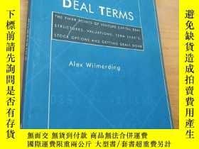 二手書博民逛書店deal罕見termsY16663 Alex Wilmerdin