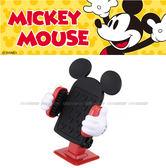 【愛車族購物網】NAPOLEX Disney 米奇 3D迴轉式行動手機架│電話架 (黏貼式)