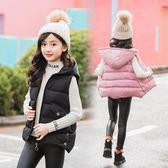 年末鉅惠 3兒童裝2018新款4女童馬甲5背心6秋冬裝7小女孩8棉衣加厚外套10歲