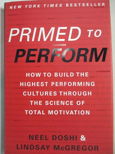 【書寶二手書T1/大學理工醫_DKY】Primed to Perform: How to Build the Highest…