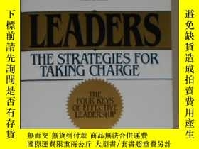 二手書博民逛書店Leaders:罕見The Strategies for Tak