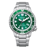 CITIZEN PROMASTER海洋潛水200光動能橡膠腕錶BN0158-85X
