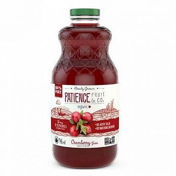 統一生機~FRUIT D'OR 100%有機鮮榨純蔓越莓汁946毫升/罐~即日起特惠至12月31日數量有限售完為止