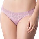 思薇爾-冰冰Bra系列M-XL蕾絲低腰三角內褲(霧影粉)