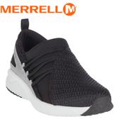 【MERRELL 美國 女款 1SIX8 MOC超輕量休閒鞋《黑》】ML45430/休閒鞋/便鞋/懶人鞋/運動鞋