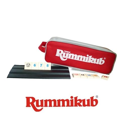 【哿哿】拉密袋裝版 Rummikub Maxi Pouch- 中文正版桌上遊戲《熱門益智遊戲》中壢可樂農莊