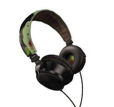 [nova成功3C]Marley 雷鬼 Revolution (EAR-MAR-JH020RV) (headphone) Revolution 迷彩綠 頭戴式耳機