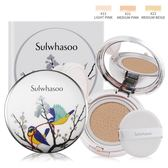 Sulwhasoo 雪花秀 無瑕光感氣墊粉霜-比翼雙飛限定版SPF50+ PA+++(15gX2)#23