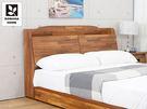 【多瓦娜】日式工業-利拉工業日式5尺木面床頭箱/二色-036