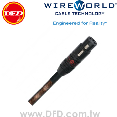 WIREWORLD ECLIPSE 7 天蝕 0.5M Balanced Interconnect 類比平衡線 原廠公司貨