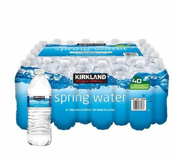 [COSCO代購] C1192527 Kirkland Signature 科克蘭 泉水 500毫升 X 40瓶(單次運費限購一組)