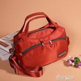 手提包大容量包包女新款尼龍女包牛津布單肩斜背包休閒帆布包 交換禮物