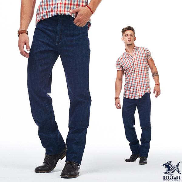 【NST Jeans】午夜藍巡航者 牛仔男褲(歐系修身小直筒) 380(5650) 帥大叔 outlet款