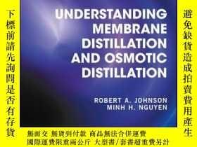 二手書博民逛書店Understanding罕見Membrane Distillation and Osmotic Distilla