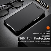 【萌萌噠】華碩 ZenFone 5/5Z (2018)  新款肌膚手感 DZGOGO 全包防摔 可支架 插卡 隱形磁扣側翻皮套