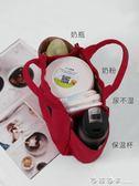 媽咪包手提便當包多功能飯盒包飯包大容量帆布飯盒袋帶飯的手提袋 西城故事