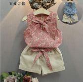 寶寶套裝小女孩夏季短袖兩件套