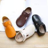 兒童公主皮鞋女童單鞋秋季鞋子韓國百搭演出鞋女寶寶瓢鞋 【東京衣秀】