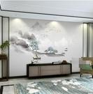 電視背景墻壁紙客廳