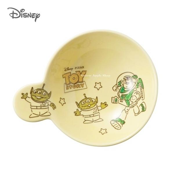 日本限定 迪士尼 玩具總動員 三眼怪 巴斯光年 陶瓷餐碗