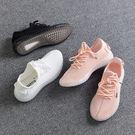 透氣休閒鞋 女韓版運動慢跑鞋【多多鞋包店】z2177