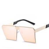 太陽鏡金屬時尚太陽眼鏡 墨鏡【多多鞋包店】y09