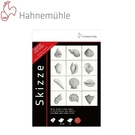 德國 Hahnemuhle  10650047 素描本 2本A4+6支鉛筆 套組