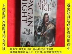二手書博民逛書店The罕見Pagan Night (大32開) 【詳見圖】Y54