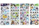 【卡漫城】 龍貓 泡泡 貼紙 四張組 ㊣版 Totoro 豆豆龍 3D 兒童 造型 裝飾貼 泡綿 立體