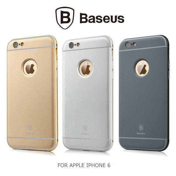 BASEUS Apple iPhone 6S / 6 (4.7吋) 鉑士Classic 金屬邊框 + 背蓋 / 保護殼 / 手機殼 / I6S / I6 / 倍思